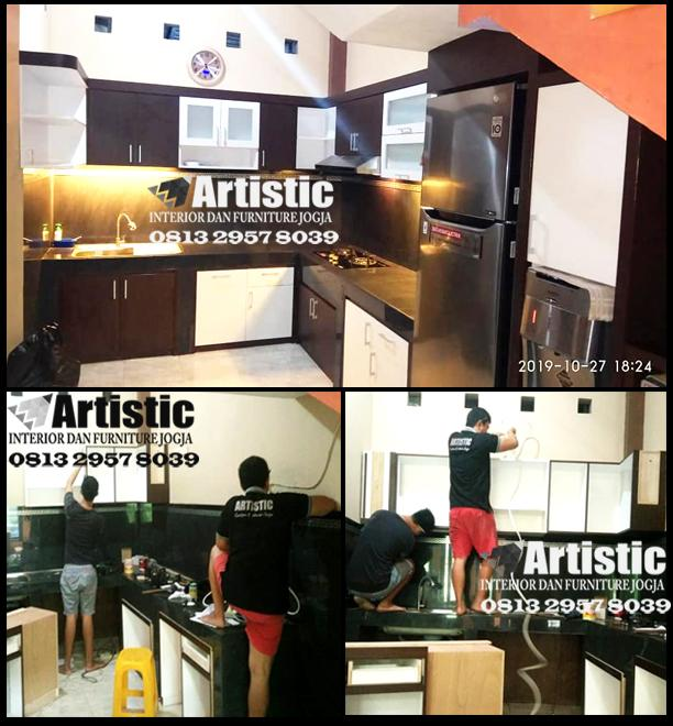 Jasa Pembuatan Furniture Interior Kitchen Set & Lemari Dapur